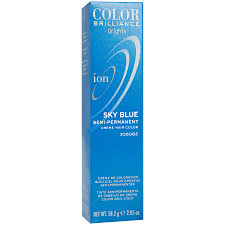 ion color brilliance brights semi permanent hair color sky blue