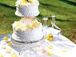 wedding cake recipes tiered poppy seed wedding cake recipe myrecipes