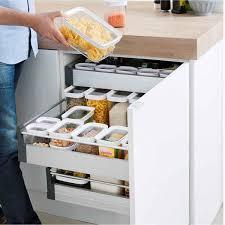 boite de cuisine boîte en plastique pour aliments secs 1 litre