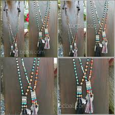 charm necklace wholesale images Bali beads stone mix charms necklaces beads wholesale 50 pieces jpg