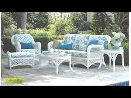 Design Modern White Wicker Furniture YouTube - Outdoor white wicker furniture