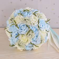 wedding bouquets online compare prices on blue flowers wedding bouquet online shopping