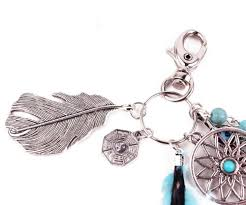 cool key rings images Bohemia porta chaves dreamcatcher key rings feather keychain bag jpg