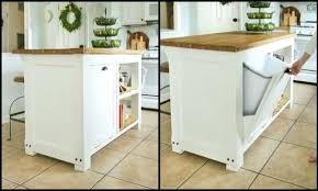 kitchen island with garbage bin kitchen cart with garbage storage medium size of kitchen island