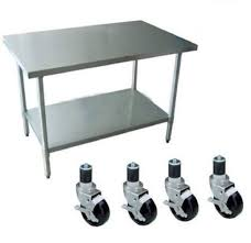 Kitchen Work Table by Why Are Stainless Steel Kitchen Tables So Popular One Kinfe