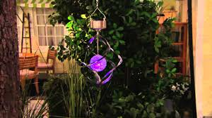 wind spinners with led lights solar wind spinner with color changing light up ball with amy stran