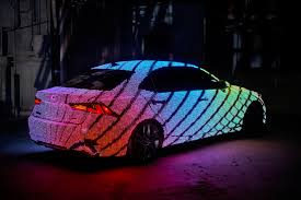 new sriracha inspired lexus comes lexus is lights up for music video with 41 999 leds
