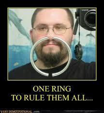 One Ring To Rule Them All Meme - one ring to rule them all very demotivational