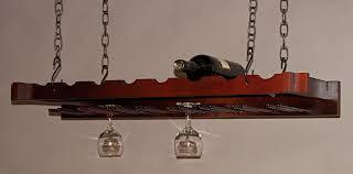 hanging wine glass racks ceiling 162 03 stemware rack with black