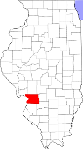 Illinois Map With Counties by National Register Of Historic Places Listings In Madison County