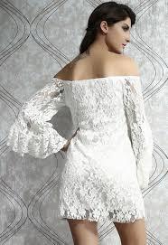 dear lover wholesale cream plus size white lace off the shoulder