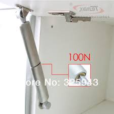 Hydraulic Kitchen Cabinets 2x100n Stainless Steel Furniture Hardware Gas Lift Up Cupboard