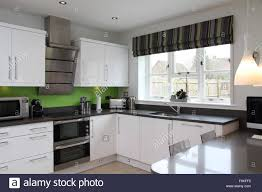 modern kitchen towels cabinet green and white kitchen the best green kitchen tile