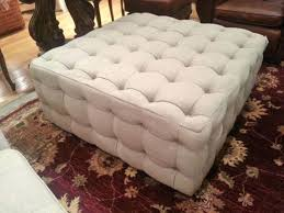 large ottoman tufted storage bench tray wood trunk