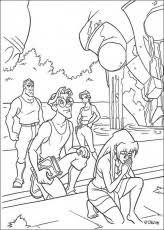 milo talking preston lost atlantis coloring pages