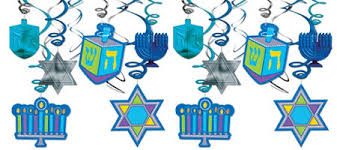 hannukkah decorations hanukkah decorations hanukkah lights garlands cutouts party city