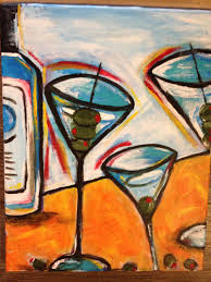 martini glass acrylic painting san diego events for july 22 2015 san diego reader