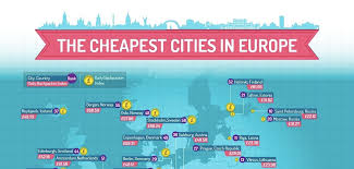cheap places to travel images Infographic these are the cheapest cities in europe to travel to jpg