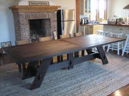 Large Dining Room Ideas Cool Large Dining Room Table Seats 14 29 With Additional Dining
