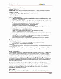 Mis Resume Example 100 Resume Template For Sales Job Here U0027s What A Mid Level
