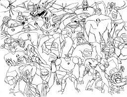 ben 10 aliens brendan cave drawings