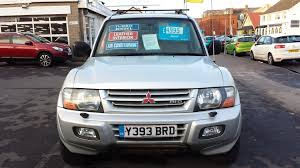 mitsubishi shogun interior used mitsubishi shogun 2001 for sale motors co uk