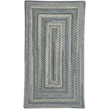 Capel Area Rug Capel Tooele Blue Jean 5 Ft X 8 Ft Concentric Area Rug