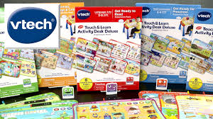 vtech table touch and learn touch learn activity desk deluxe expansion packs from vtech youtube