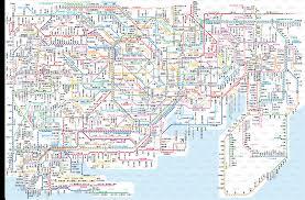 Shinagawa Station Map Tokyo Metropolitan Area Kanto Public Transport Page 18