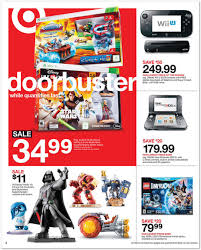 black friday 2015 target ad leaks with deals on disney infinity