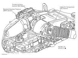 mass air flow sensor where is the mass air flow sensor on an 02