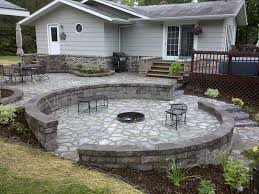 Stone Patio With Fire Pit Stone Patio Fire Pit U2013 Outdoor Design