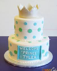 prince polka dotted two tiered cake cmny cakes