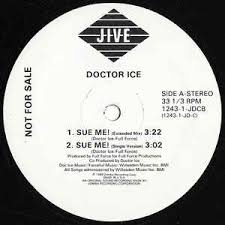 doctor ice sue me word up doc vinyl at discogs