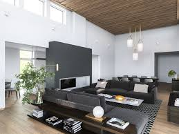 best modern home interior design 3 modern homes in many shades of gray