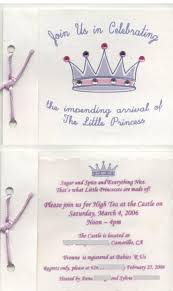 princess theme baby shower invitations u2013 gangcraft net