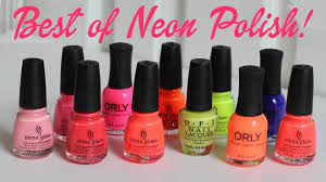 my favorite neon nail polish best of neon polish youtube