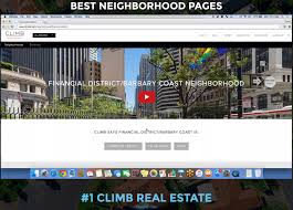 climb real estate wins awards for best website climb labs