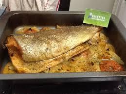 comment cuisiner une grosse truite truites au four sur lit de tomates mylène s