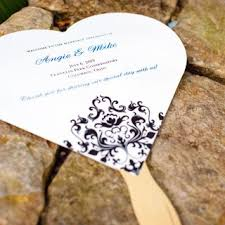 Fan Style Wedding Programs Wedding Programs Wedding Program Wording