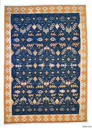 Kilim Area Rug K0004671 Blue New Turkish Kilim Area Rug