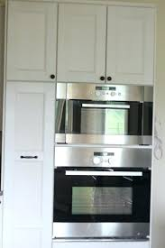 build wall oven cabinet how to build a double wall oven cabinet oven and microwave build