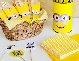 minion baby shower despicable me party ideas for a baby shower catch my party