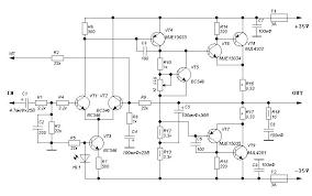 100 watt high quality power amplifier amplifier circuit design