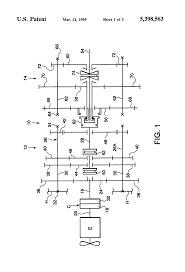 patent us5398563 compound transmission having four speed