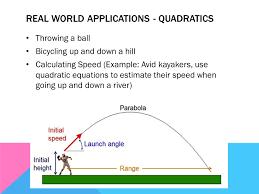 2 real world s quadratics