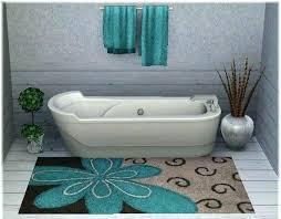 Navy And White Bath Rug Navy Blue Chenille Bath Rug Rugs Design