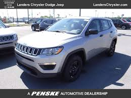 dodge jeep silver 2017 new jeep compass sport fwd at landers chrysler dodge jeep ram