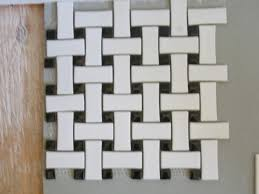 basketweave tile style contemporary tile design magazine
