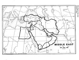 Middle East Country Map by Always A Teacher Always A Survivor The Angel Of The East Lesson